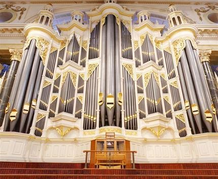 Robert Ampt is the City Organist of the Sydney Town Hall.
