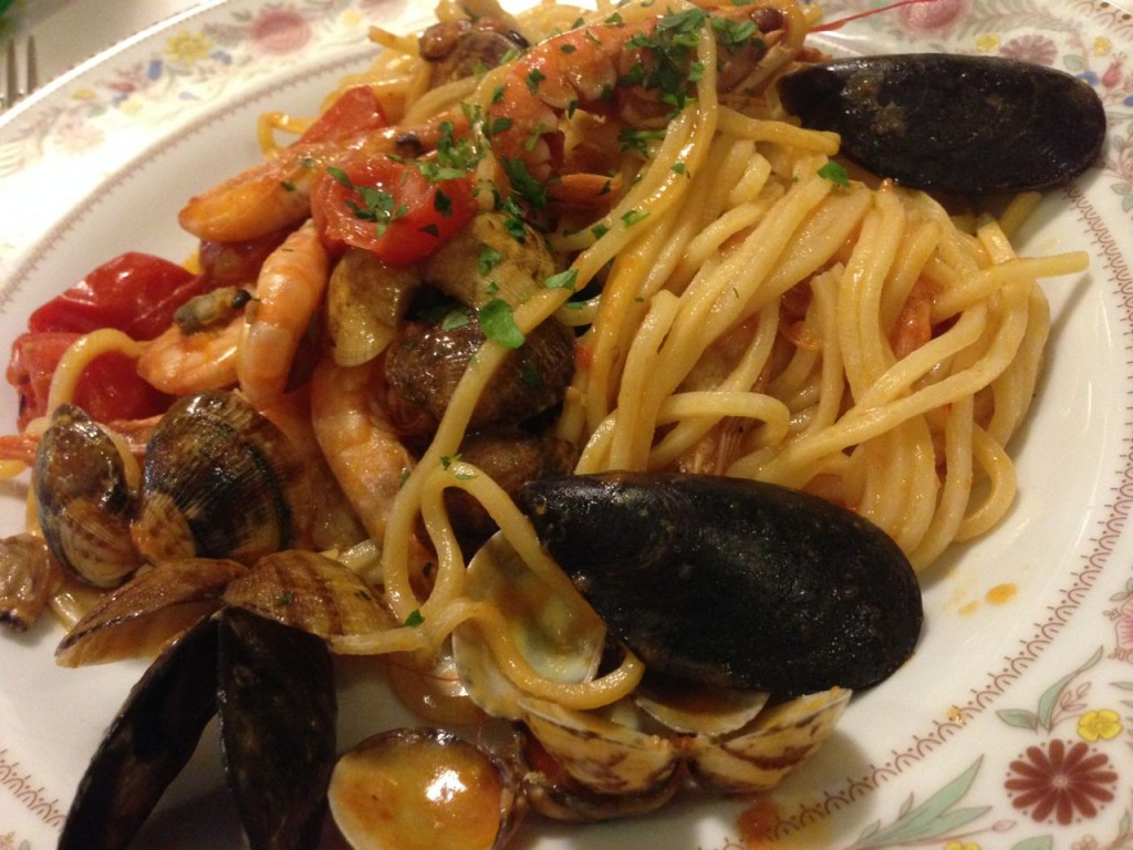 MY delicious seafood pasta