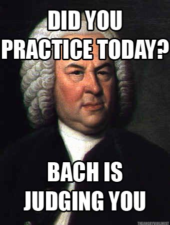 Sorry, Bach, it will be 5-1/2 weeks without you!