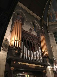 The organ at St. Luke's Episcopal Church, Philadelphia