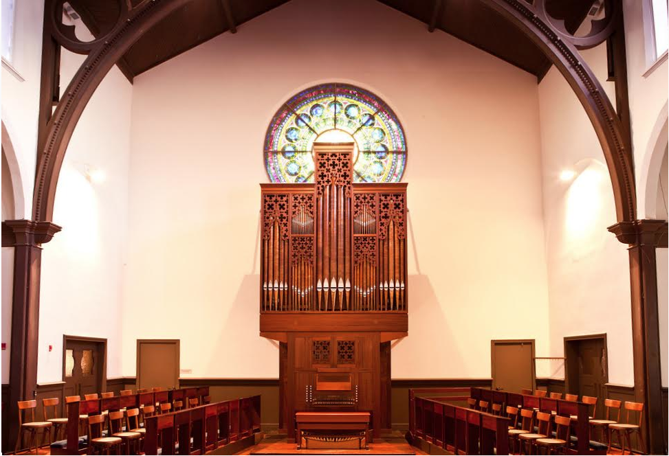 Flentrop Organ, St. Mark's Church, Berkeley